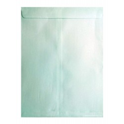 "Green Cloth Cover Envelope 12""x10"" (A4) Size Pack of 25"