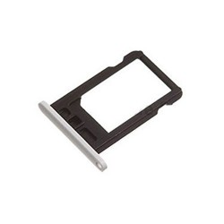 Sim Card Slot Tray Holder Jack for iPhone 5 Silver
