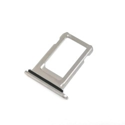 Sim Card Slot Tray Holder Jack for Apple iPhone Xs : Silver