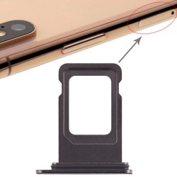 Sim Card Slot Tray Holder Jack for Apple iPhone Xs : Black