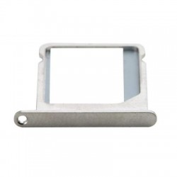 Sim Card Slot Tray Holder Jack for Lenovo K6 Power - Silver