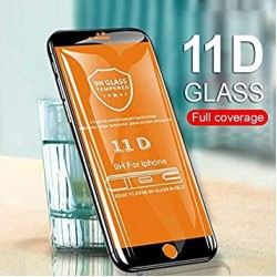 11D Tempered Glass Full Edge-to-Edge 100% Secure and perfect Glass for Vivo Y66