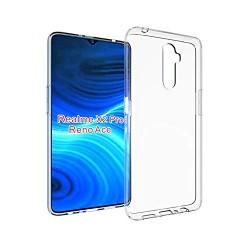 Kelpuj BumperCorner Soft Silicon Shockproof Flexible Rubber Back Case Cover for Realme X2 Pro