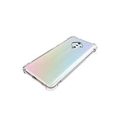 Kelpuj BumperCorner Soft Silicon Shockproof Flexible Rubber Back Case Cover for Vivo S5