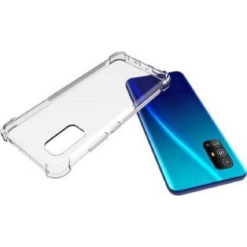 Kelpuj Bumper Soft Silicon Shockproof Flexible Rubber Back Case Cover for Vivo V17