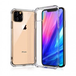 Kelpuj BumperCorner Soft Silicon Shockproof Flexible Rubber Back Case Cover for Apple iphone 11