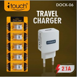 USB Power Adpater with 2.1 A - Pack of 1 Pcs Only