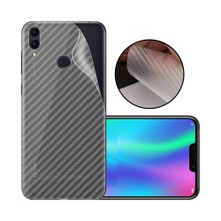 Ultra Thin Slim Transparent 3D Carbon Fiber Rear Skin Back Screen Guard Sticker for Honor 8X