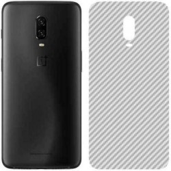 Ultra Thin Slim Transparent 3D Carbon Fiber Rear Skin Back Screen Guard Sticker for OnePlus 6T
