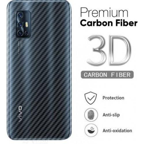 Ultra Thin Slim Transparent 3D Carbon Fiber Rear Skin Back Screen Guard Sticker for Vivo V19