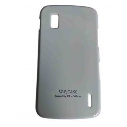 SGP Hard Plastic Back Case Cover for LG Nexus 4 E960 -White