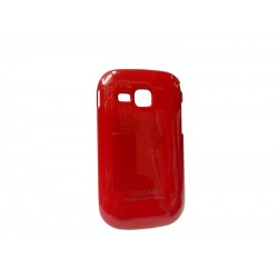 SGP Hard/Plastic Back Cover for Samsung Galaxy Young S6312 - Red