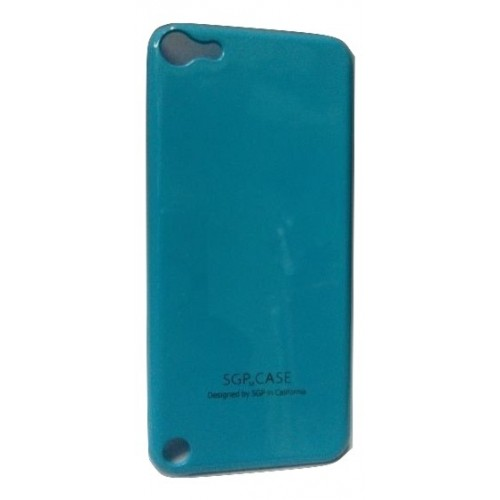 SGP Hard Plastic Back Case Cover for Apple iPod Touch 4TH Generation- Blue