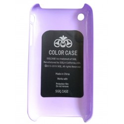 SGP Hard/Plastic Back Cover for Apple iPhone 3G / 3S - Purple