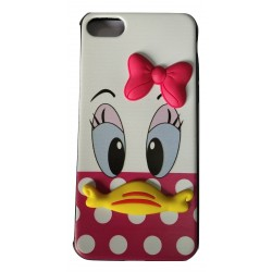 3D Toy Cartoon with Printed Rubber slim Back case for Apple iPhone 7/7G/8(Design 3)