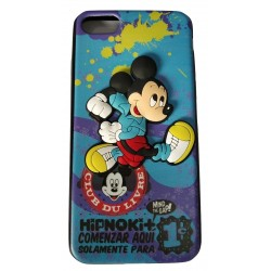 3D Toy Cartoon with Printed Rubber slim Back case for Apple iPhone 7/7G/8(Design 4)