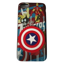 3D Toy Cartoon with Printed Rubber slim Back case for Apple iPhone 7/7G/8(Design 5)
