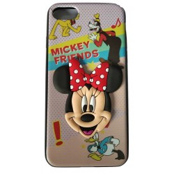 3D Toy Cartoon with Printed Rubber slim Back case for Apple iPhone 7/7G/8(Design 10)