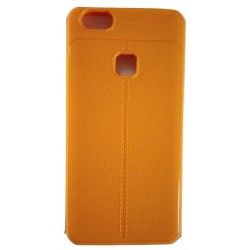 AutoFocus Rubber Back Case Cover for Vivo V7 -Orange