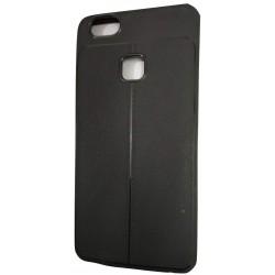 AutoFocus Rubber Back Case Cover for Vivo V7 -Black