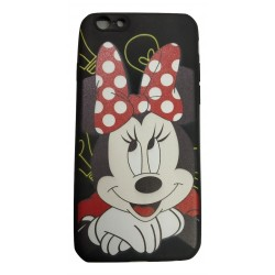 cartoon Printed Rubber Back Case Cover for Apple iPhone 7 / 7S