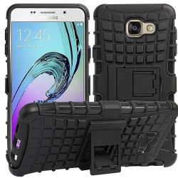 Shockproof Hybrid Kickstand Back Case Defender Cover for Samsung Galaxy c7 Pro