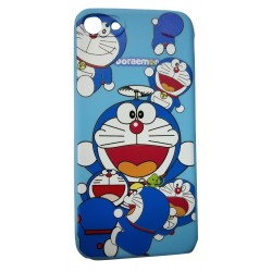 Cartoon Printed Rubber Back Case for Oppo A83 -Deroman