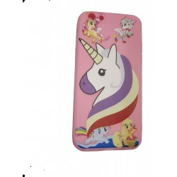 Cartoon Printed Rubber Back Case for Oppo A83