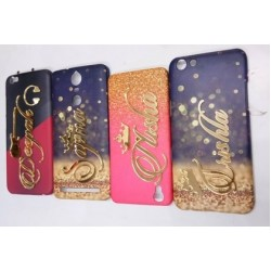 Print Your Own Name Design 4D Hard Back Case