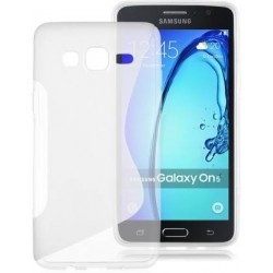 Kelpuj Back Cover for Samsung Galaxy On5 G550  (Transparent)
