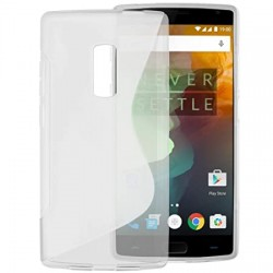 S-line TPU/Rubber Back Cover for OnePlus 2 - Transparent