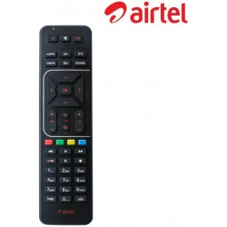 Airtel Digital TV DTH Remote Compatible with SD and HD Recording(Black)